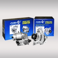 Generator, starter motor