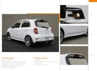 Nissan March / Micra full body kit