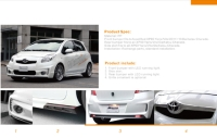 Toyota Yaris / Vits full body kit