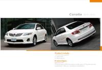 Corolla 外加4件式小包套件