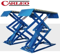 Cens.com Extra Thin Scissor Lift /car lift /auto lift (3.0tons) MING LURN PRECISION MACHINE CO., LTD.