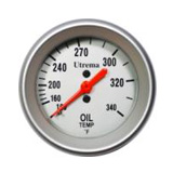 Utrema Mechanical Oil Temperature Gauge 52mm