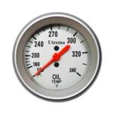 Utrema Mechanical Oil Temperature Gauge 52mm