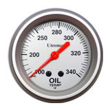 Utrema Performance Oil Temperature Gauge