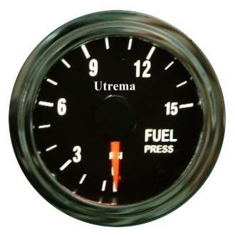 Utrema Mechanical Fuel Pressure Gauge Illuminated