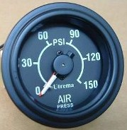 Utrema Dual Needle Air Pressure Gauges