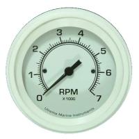Utrema White Marine Tachometer 3-3/8