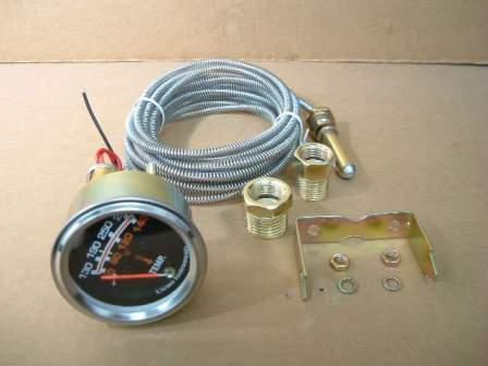 Utrema Auto Short Sweep Mechanical Water Temp Gauge