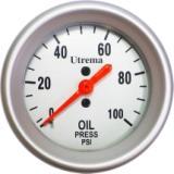 Utrema Auto Mechanical Oil Pressure Gauge 2-1/16