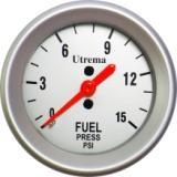 Utrema Auto Mechanical Fuel Pressure Gauge 2-1/16