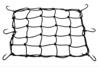 Motorcycle cargo net