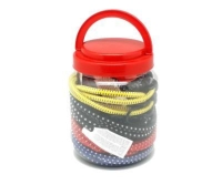 Cens.com 罐装弹性绳-二十条装 福高实业股份有限公司