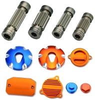Aluminum alloy parts