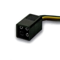 4-pole-square-shrouded-connector