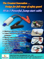Cens.com 10-in-1 jump start cable MULTIVICTOR TECHNOLOGY CO., LTD.