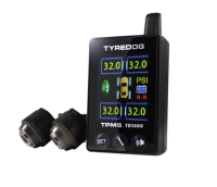 Automotive TPMS with colored display