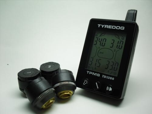 胎外式轎車4 or 5輪無線胎壓偵測器