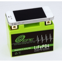 12V Motorcycle Used Nano Lithium Iron Phosphate Battery