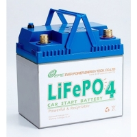 12V Automotive Used Nano Lithium Iron Phosphate Battery