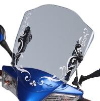SENFUN Motorcycle Windshield
