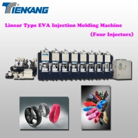 Linear Type EVA Injection Molding Machine (Four Injectors)