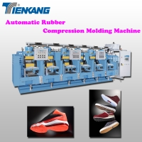 Automatic Rubber Compression Molding Machine