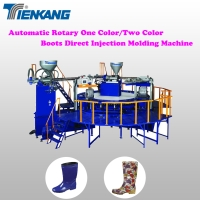 Automatic Rotary One Color/Two Color Boots Direct Injection Molding Machine