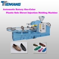 Automatic Rotary One/Two/Three Colors Plastic Sole Direct Injection Molding Machine