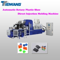 Automatic Rotary Plastic Shoe Direct Injection Molding Machine