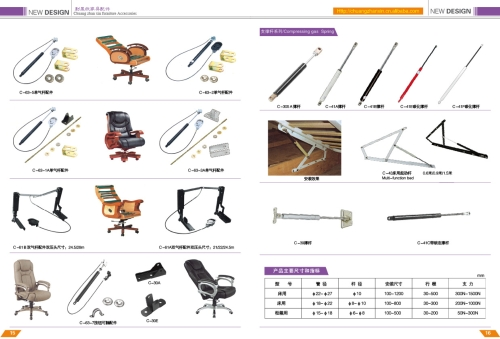 office furniture and parts