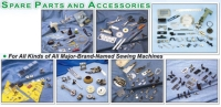 Spare Parts and Accessories for All Kinds of All Major-Brand-Named Sewing Machines
