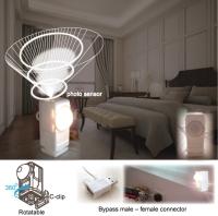 Bypass USB photo-controlled night light