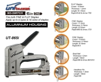 5 in 1 aluminum staple gun tacker
