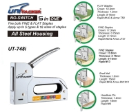 5 in 1 all steel staple gun tacker