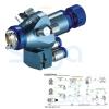 Automatic spray gun /Auto spray gun of high effciency for robot