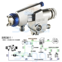 Automatic spray gun /Environment friendly automatic spray guns of lowpressure and high flow