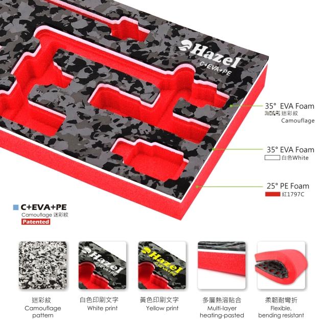 Laser engraving,EVA processing,PE & EVA Screen Printing, EVA Printed,