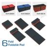 3 function in 1 EVA foam foldable pad - lying kneeling, and sitting.