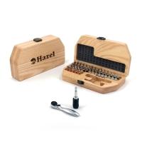 原木榫接长桌椅