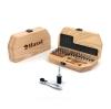 原木榫接長桌椅