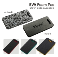 Good ventilative 3 function in 1 foldable pad - lying kneeling, and sitting.