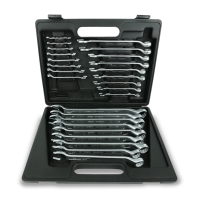 26pcs  Combination Wrench