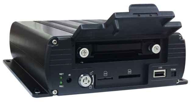 DM-6012H 12CH Mobile Hybrid DVR