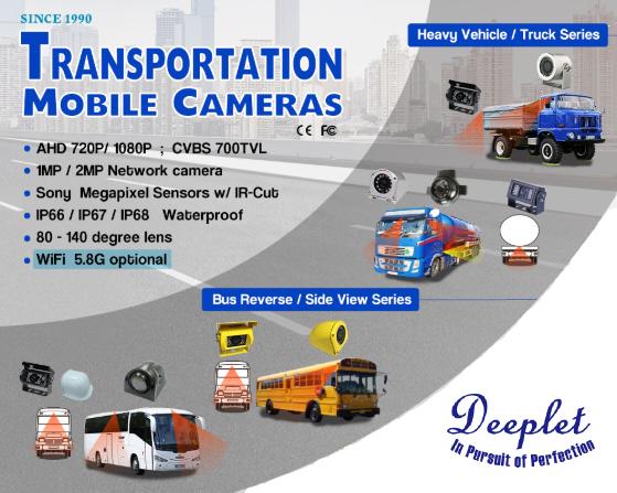 AHD 1080P 車用攝影機