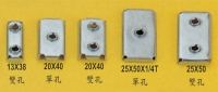 Steel Tube Stoppers / Plugs sleeve Screws