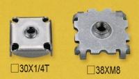 Steel Tube Stoppers / Plugssleeve S Screws