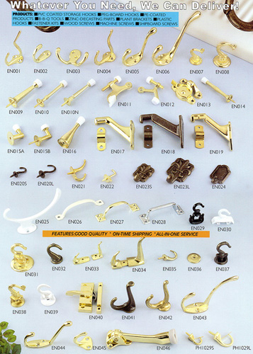 Fasteners, nails, nuts, rivets screws