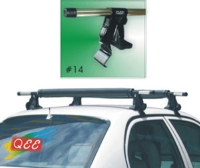 ROOF BAR for car without channel gutters