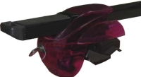 ROOF BAR for car with side rail bar (WITH KEY) RED