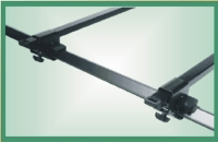 ROOF BAR for car with side rail bar